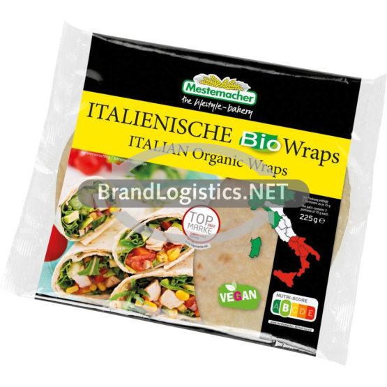 Mestemacher Italienische Bio Wraps 225 g