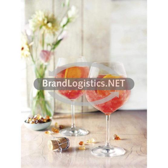 Spritziger Hibiskus-Apfel-Drink