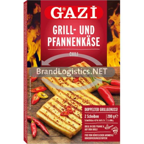 GAZİ Grill- und Pfannenkäse Chili 200 g
