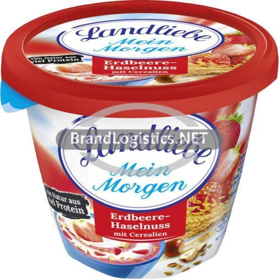 Landliebe Mein Morgen Erdbeer-Haselnuss mit Cerealien 250 g