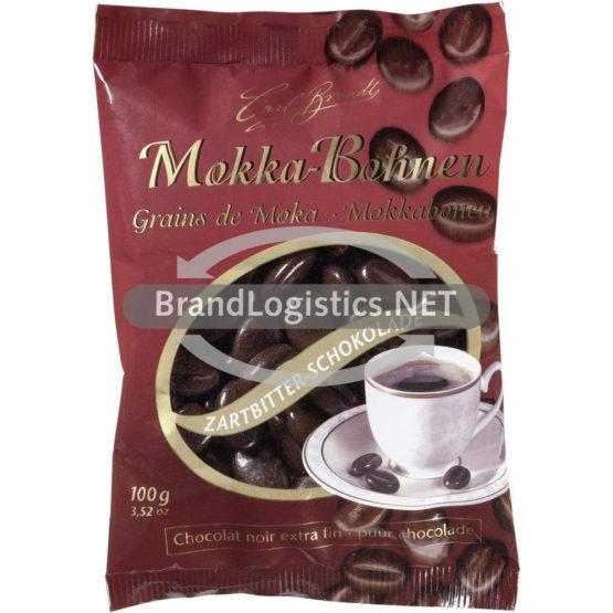 Carl Brandt Mokka-Bohnen Zartbitter-Schokolade 100 g