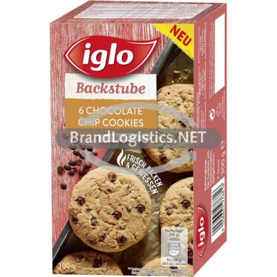iglo 6 Chocolate Chip Cookies 300 g