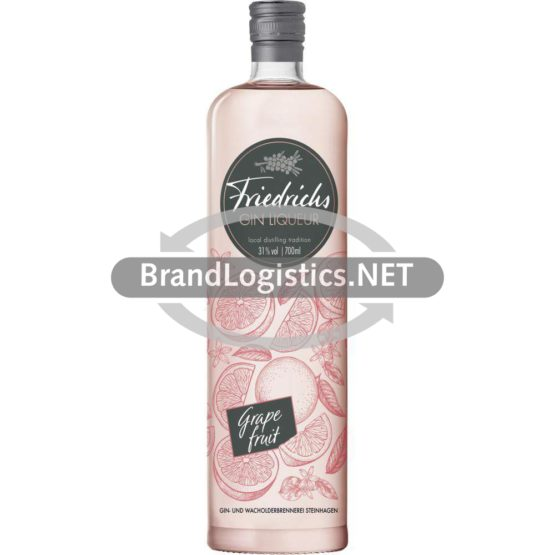 Friedrichs Gin Liqueur Grapefruit 0,7 l