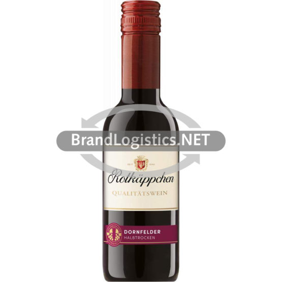 Rotkäppchen Qualitätswein Dornfelder halbtrocken 0,25 l