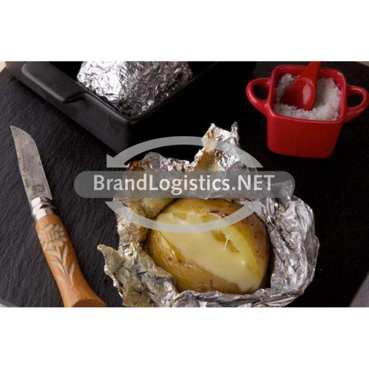 Grillkartoffel in Meersalz mit Appenzeller® Käse
