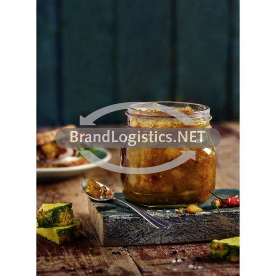 Ananas-Chutney mit Chili und Cranberrys