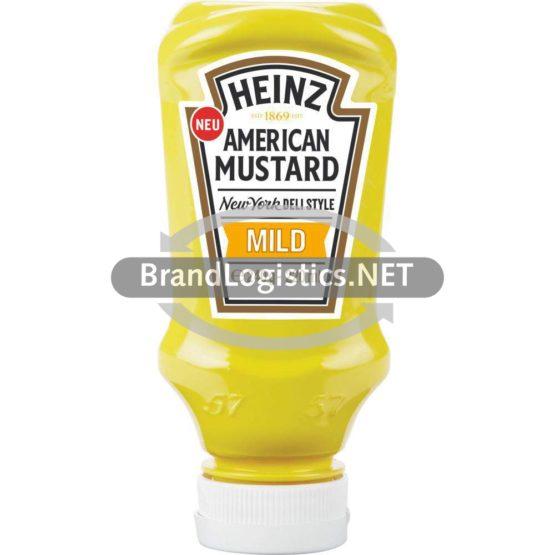HEINZ American Mustard Mild 220 ml
