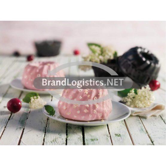 Holunderblüten-Kirsch-Mini-Gugelhupf