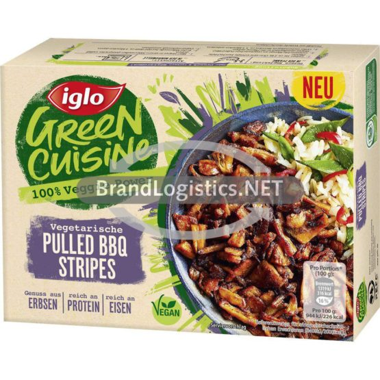 iglo Green Cuisine vegetarische Pulled BBQ Stripes 200 g