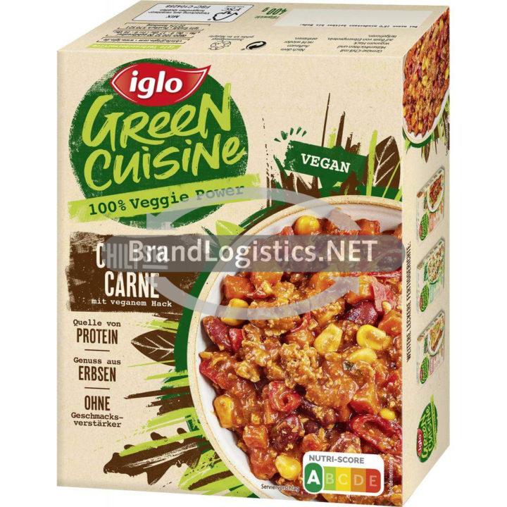 iglo Green Cuisine Chili sin Carne mit vegetarischem Hack 400 g
