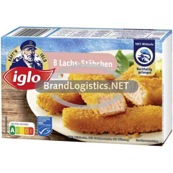 iglo 8 Lachs-Stäbchen 224g