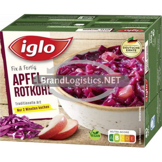 iglo Apfel-Rotkohl traditionelle Art 450g