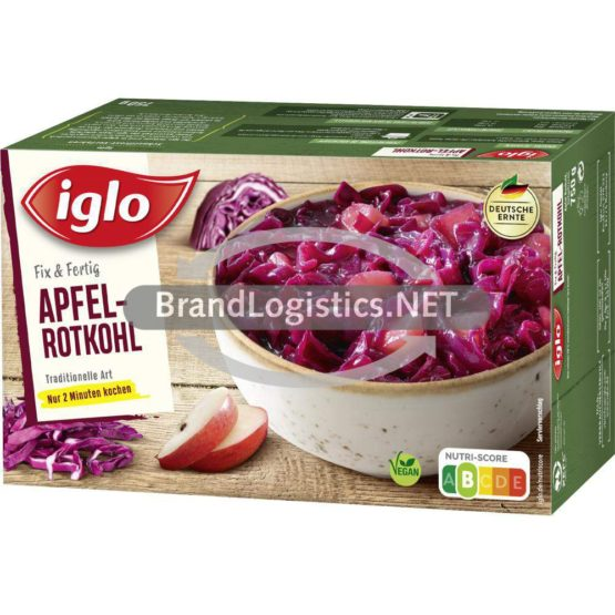 iglo Apfel-Rotkohl traditionelle Art 750g