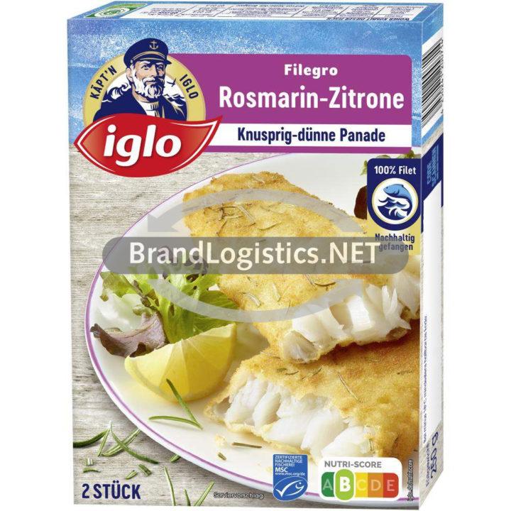 iglo Filegro Rosmarin-Zitrone 250g