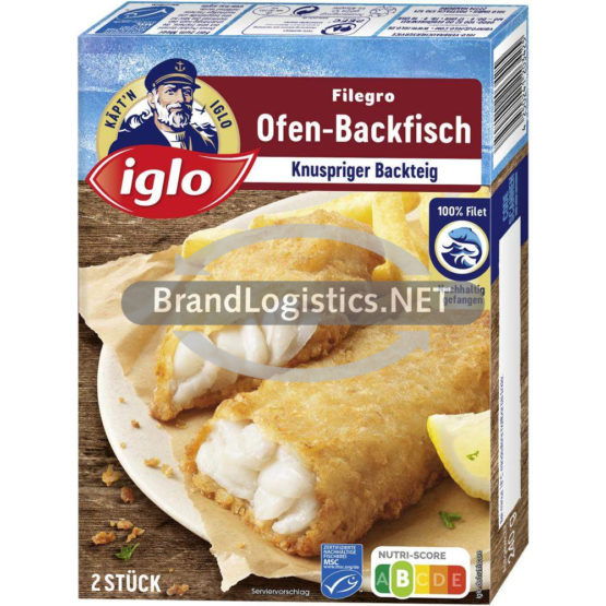 iglo Filegro Traditioneller Ofen-Backfisch 240g