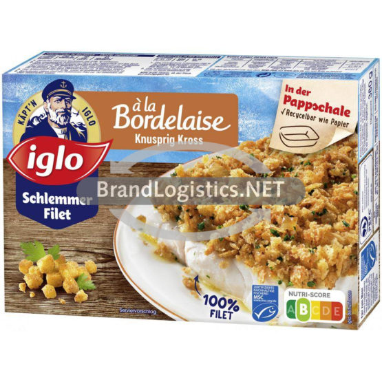 iglo Schlemmer-Filet à la Bordelaise Knusprig Kross 380 g