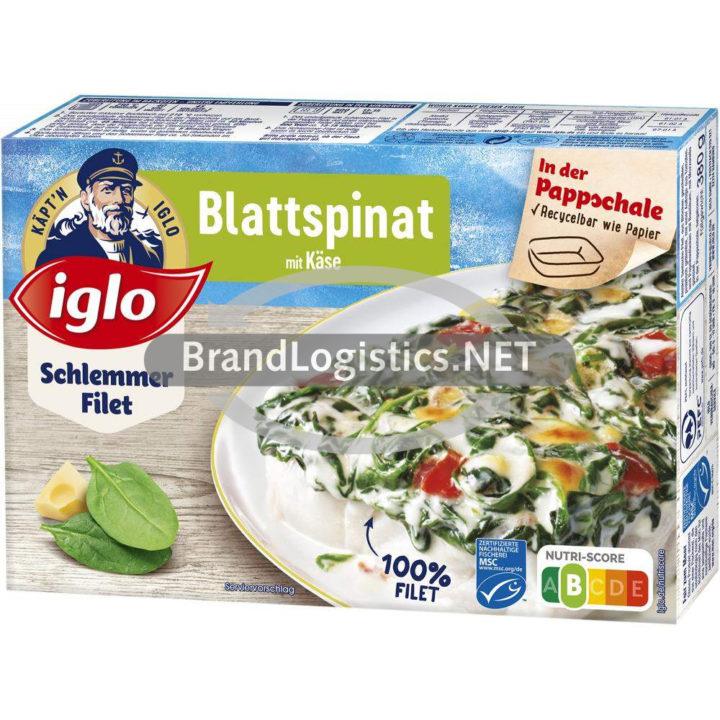 iglo Schlemmer-Filet Blattspinat 380g