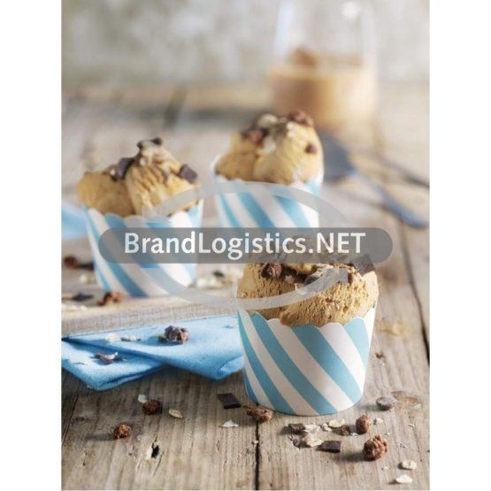 Irish-Cream-Espresso-Eis mit Schokomüsli