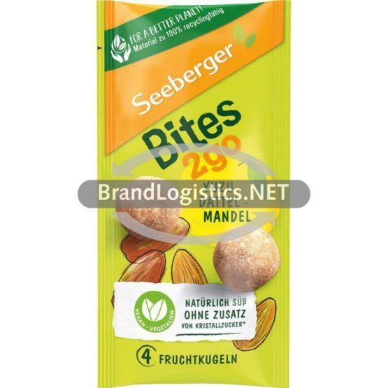 Seeberger Bites2go Yuzu-Dattel-Mandel 4 Fruchtkugeln