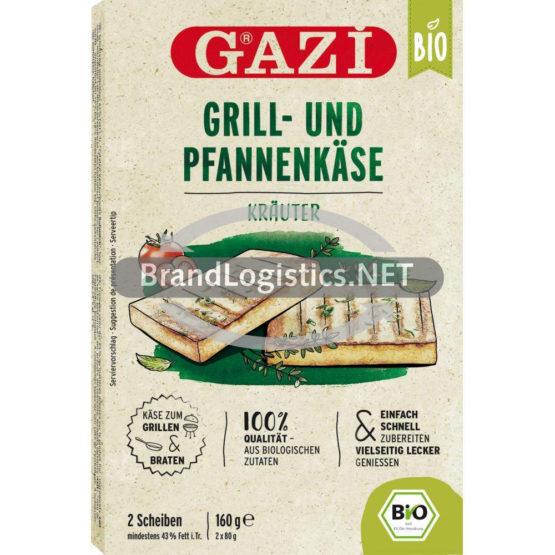 Gazi Bio Grill- und Pfannenkäse Kräuter 2x 80g