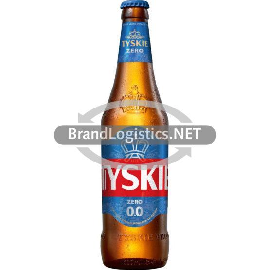 Tyskie 0,0% Flasche 0,5 L