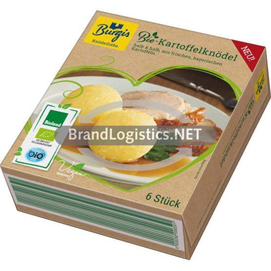 Burgis Bio Kartoffelknödel tiefgekühlt 450 g