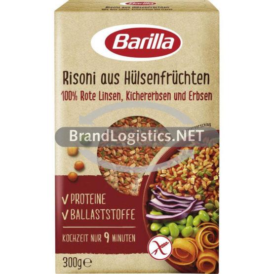 Barilla Risoni aus Hülsenfrüchten Linsen, Kichererbsen und Erbsen 300g