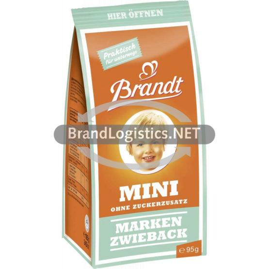 Brandt Mini Markenzwieback ohne Zuckzusatz 95 g