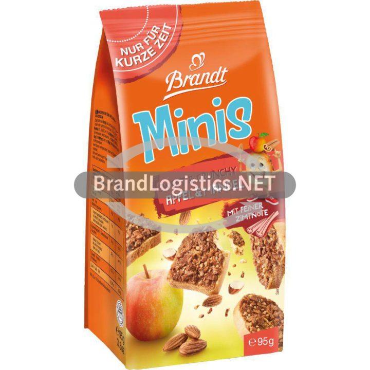 Brandt Minis-Sweet & Crunchy Apfel-Mandel 95 g