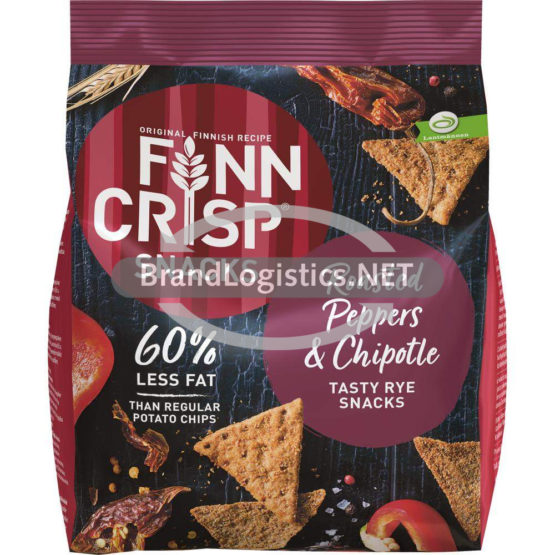 Finn Crisp Snacks Roasted Peppers & Chipotle 150 g