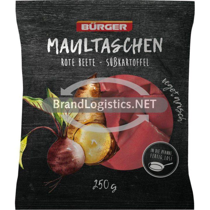 Bürger Maultaschen Rote Beete-Süßkartoffel 250g