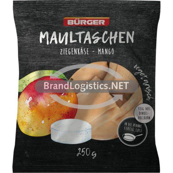 Bürger Maultaschen Ziegenkäse-Mango 250g