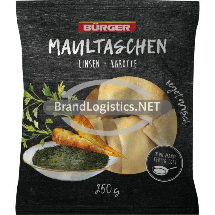 Bürger Maultaschen Linsen-Karotte 250g