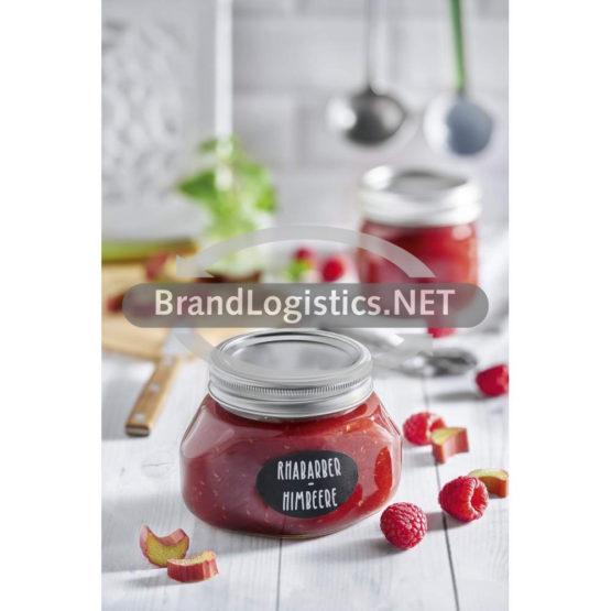 Rhabarber-Himbeer-Fruchtaufstrich
