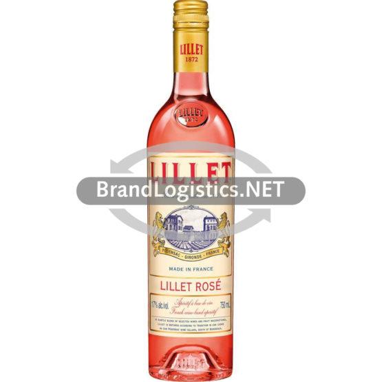 Lillet Rosé 17% vol. 0,75l