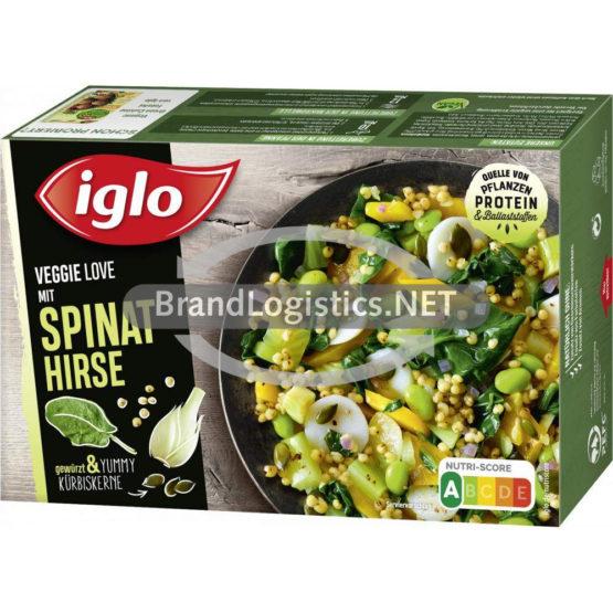 Iglo Veggie Love Spinat Hirse 400g