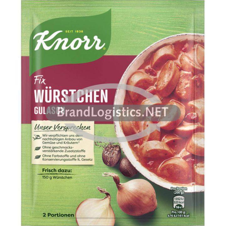 Knorr Fix Würstchen Gulasch 29g Beutel