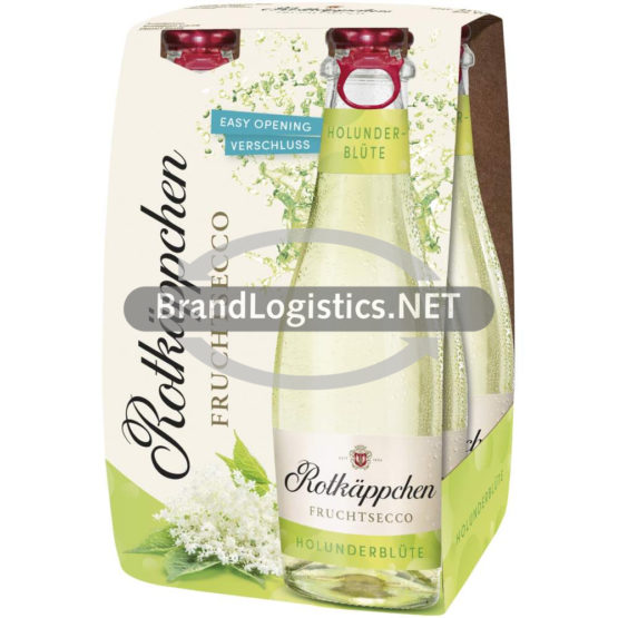 Rotkäppchen Fruchtsecco Holunder Mehrpack 4×0,2l