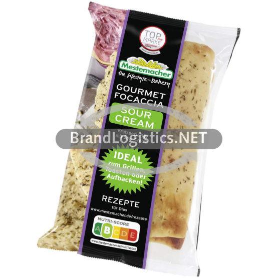 Mestemacher Gourmet Focaccia Sour Cream 250 g