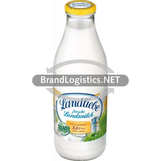Landliebe frische Landmilch 3,8% 1l-Pfandflasche