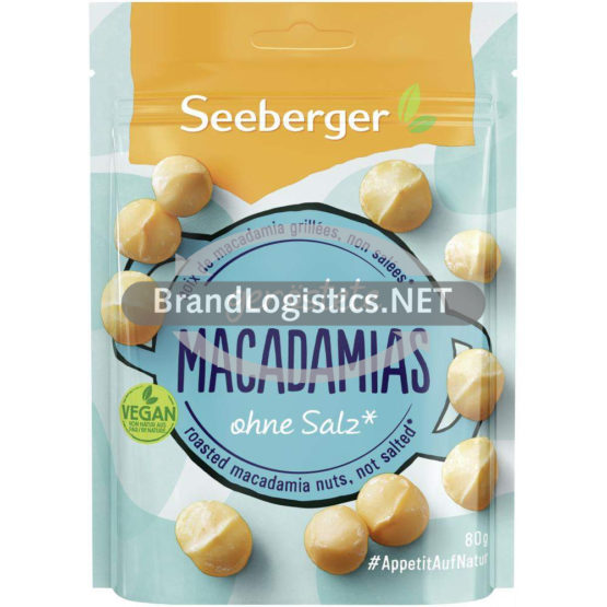 Seeberger Geröstete Macadamias 80 g