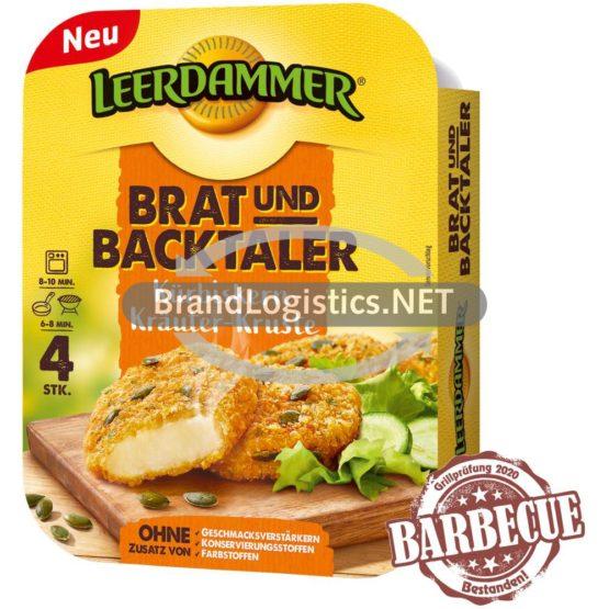 Leerdammer Brat- und Backtaler Kürbiskern-Kräuter-Kruste 4x40g