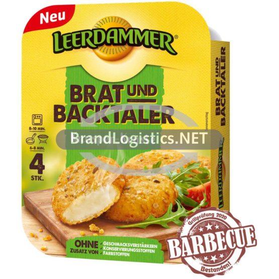 Leerdammer Brat- und Backtaler Knusper-Kruste 4x40g