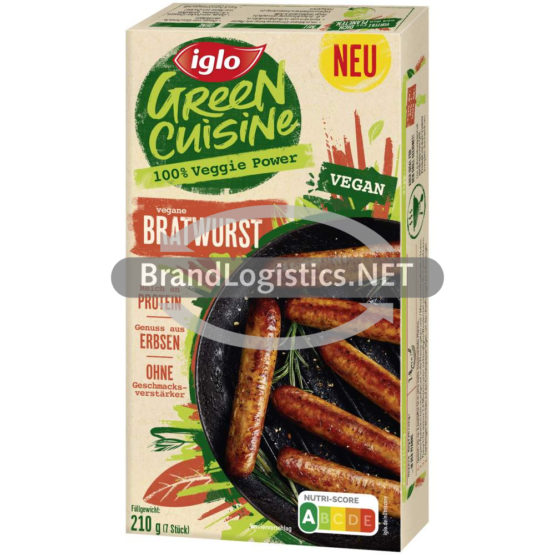 Iglo Green Cuisine Bratwurst 210g