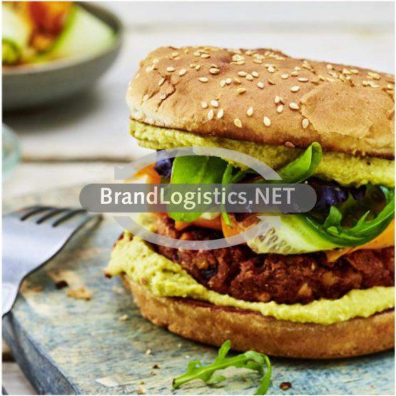 Rote-Bete-Linsen-Burger mit Kichererbsen und NOA