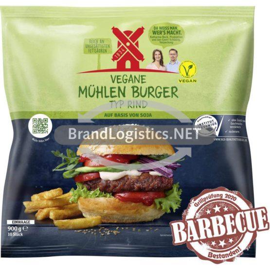 Rügenwalder Vegane Mühlen Burger Typ Rind 180g