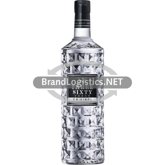 Three Sixty Vodka 37,5% vol. 3,0 l + 6 Micro-Cocktail-Gläser gratis