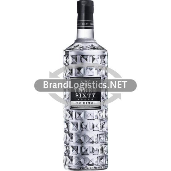 Three Sixty Vodka 37,5% vol. 3,0 l + 6 Micro-Cocktail-Gläser gratis
