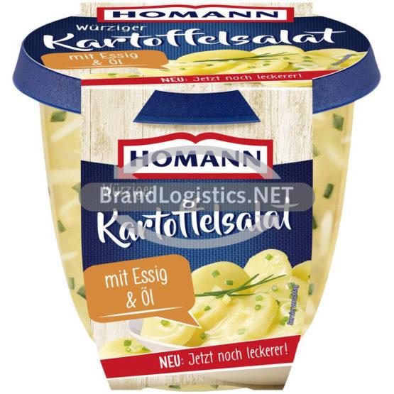 Homann Würziger Kartoffelsalat mit Essig&Öl 400g