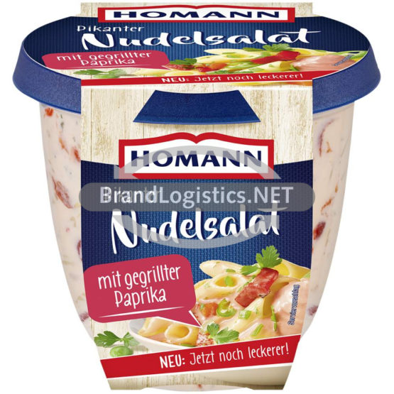 Homann Pikanter Nudelsalat 375g